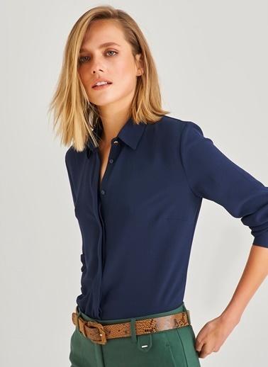 Klasik Gizli Patlı Gömlek-People By Fabrika